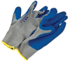 xlarge rubber coated knit glove -- 12457