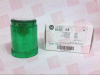 CONTROL TOWER STACK LIGHT 120V AC FULL VOLTAGE GREEN STEADY LED (SOCKET MOUNT) -- 855E10TL3