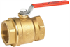 Brass Body Ball Valve -- Series 722L -- View Larger Image