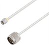 SMA Male to N Male Cable Assembly using LC141TB Coax, 6 FT -- LCCA30407-FT6 -- View Larger Image