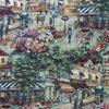 Café Scenic Tapestry Fabric -- R-Rue de Paris -- View Larger Image