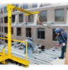 Temporary Miller Edge Fall Protection System