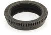 Carling Technologies 380-08811 Dress Face Nut, Knurled Black, 15/32