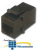 Allen Tel Cat 6 Coupler - Black -- AT66C-00