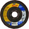 Norton Blaze CA Coarse Center Mount Fiberglass HD Flat Flap Disc -- 66261020628 - Image