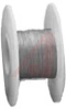 Wire; 100ft 30AWG silver plated copper;black Kynar insulated; low strip force -- 70176468