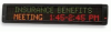 LED 2 Line Message Centers Up to 120 Characters -- MC2 Series