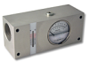 Inline Flow Indicator With Temperature Sensor, FI1500 Series, Up to 100 GPM -- HC-FI1500-100