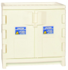 Eagle 22 gal White Hazardous Material Storage Cabinet - 35 in Width - 36 in Height - Under Counter - 048441-00174 -- 048441-00174 - Image