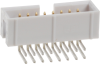 Rectangular Connectors - Headers, Male Pins -- HLN16H-ND -Image