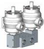 Double Pilot Solenoid Operated Spool Valves, 1600 Series