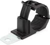 HellermannTyton 151-01501 Adjustable Ratchet P-Clamp, Bundle Dia. 1.38