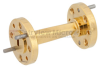 WR-12 45 Degree Waveguide Right-hand Twist Using a UG-387/U Flange And a 60 GHz to 90 GHz Frequency Range -- SMW12TW1003 - Image