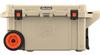 Pelican 80 Qt Elite Cooler with Wheels - Tan | SPECIAL PRICE IN CART -- PEL-80QW-2-TAN -Image