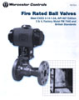 AF/FZ Series Fire Rated Ball Valve