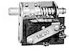 MICRO SWITCH AC Series Door Switch, Single Pole Double Throw Circuitry, 15 A at 250 Vac, Rod Actuator, Silver Contacts, Quick Connect Termination -- 22AC1-D8 -Image