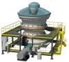 60-110E SUPERIOR® Primary Gyratory Crusher -- View Larger Image
