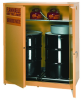 Eagle 110 gal Yellow Hazardous Material Storage Cabinet - 58 in Width - 65 in Height - 048441-33479 -- 048441-33479 - Image