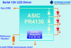 Serial 12V-LED Driver -- PR4130