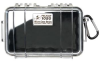 Pelican 1050 Micro Case - Clear with Black Liner -- PEL-1050-025-100 -Image