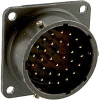 connector,box mounting receptacle,classe,size 18,32 #20 solder pin contact -- 70010948