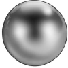 Precision Ball,Chrome,1 In,Pk 2 -- 4RJH1 - Image