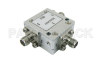 Circulator with 19 dB Isolation from 800 MHz to 960 MHz, 10 Watts and SMA Female -- PE83CR007 - Image