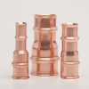 "Copper Press Fittings -- 1/2"" to 3/8"" Reducers -- View Larger Image"