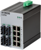 112FX4 Unmanaged Industrial Ethernet Switch, SC 15km