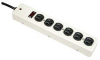 6 Outlet Power Strip Metal Case 3ft -- 2150-SF-05 -- View Larger Image
