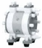 High-purity air-operated double-diaphragm pump, 3.25 GPM, 1/4