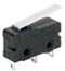 MICRO SWITCH ZM Series Subminiature Basic Switch, SPDT, 125/250 Vac, 5 A, Straight Lever Actuator, Solder Termination -- ZM50E10C01 -Image