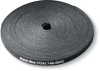 "Black 5/8""x75' Hook and Loop Cable Wrap -- FT9550A -- View Larger Image"