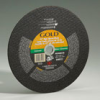 Gas-Electric Saw - Gold Reinforced Silicon Carbide Abrasive -- Cut-off Wheels
