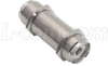 Coaxial Adapter, UHF Feed-Thru Female / Female -- BA406Z