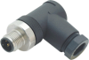 Series 713 - M12 Shielded Connectors -- Bulkhead Feed-through M12-M12