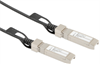 Direct Attach Copper (DAC) Active Cable Assembly, SFP+ to SFP+, Twinax, 10gig, Multi-source Agreement (MSA) Coded, Black, 3.0m -- DAC-A10GMSA-3M -Image