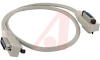 Cable Assembly; PVC; Shielded GPIB; Male/Female Both Ends; 1.6 Ft (0.5 m) -- 70005895
