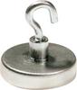 Round Base Magnet with Hooks