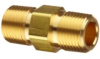 Parker Brass Pipe Fitting, Hex Long Nipple, NPT Male X N…