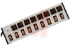 Outlet Strip; 8; 15 A; 120 V; Aluminum;Putty White; 14/3 SJT; NEMA 5-15P -- 70091729