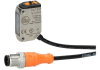 Diffuse reflection sensor ifm efector O6T301 - O6T-FPKG/0.30m/US -Image