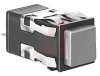 Switch; Pushbutton; Square; Standard Bezel; Lighted; DPDT; Momentary Action -- 70118498