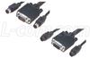 KVM Cable, Male / Female, 25.0 ft -- CTL3KVMF-25 -Image
