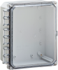Nema and IP Rated Electrical Enclosure 10X8X6 -- H10086HC -Image