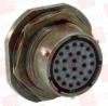 AMPHENOL PT07E20-39S ( JAM NUT CONNECTOR RECEPTACLE, SIZE 20, 39 POSITION, PANEL; PRODUCT RANGE:PT SERIES, MIL-DTL-26482 SERIES I EQUIVALENT; CIRCULAR CONNECTOR SHELL STYLE: ) -- View Larger Image