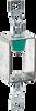 Ceiling Mounted Vibration Hanger -- RHC/RHDC-Neoprene-Hanger-with-Tabs -Image