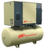 Ingersoll Rand 20-HP 120-Gallon Rotary Screw Air Compressor -- Model UP6-20-150.230-3 - Image
