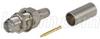 RP-SMA Jack Bulkhead Crimp for RG58,195-Series Cable -- ARSJ-3700 -Image
