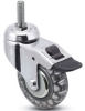 Locking Swivel Wheel Casters -- RS/RT -- View Larger Image